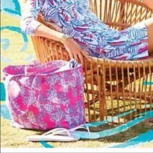 Lilly Pulitzer Pink Samba Tote Bag